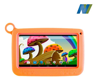 Tablet Kid, 8gb, 1gb, Doble Cámara 2mpx, Case