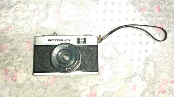 Maquina Fotográfica Antiga Rotor Ex