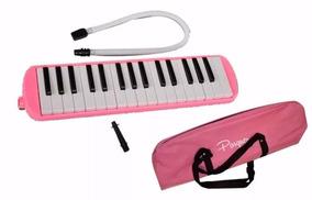 Flauta Melodica Parquer 32 Notas Incluye Funda Oferta