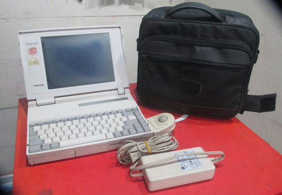 Notebook Toshiba T4800 Ct Para Colecionador 1994 Windows 95