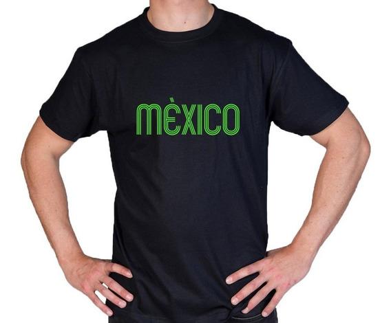 Camiseta Estampada México Futbol