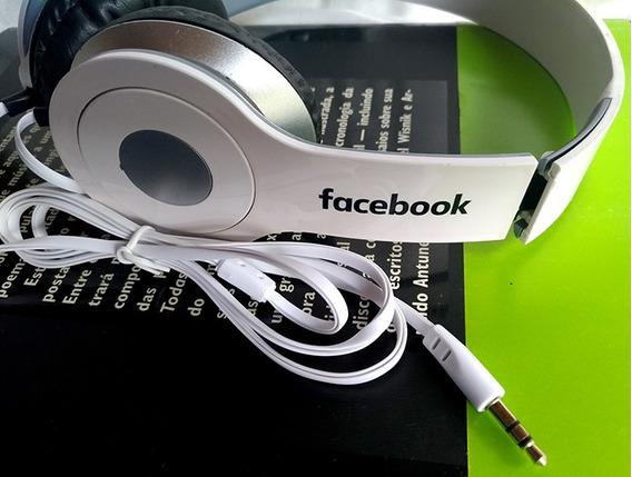 Headphone Fone De Ouvido Promocional Facebook Original Novo