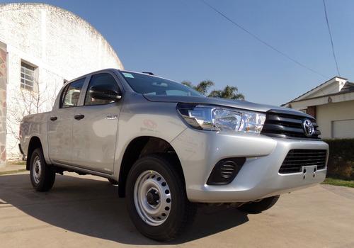 Toyota Hilux D/cabina 2.4 Tdi Dx 4x2 0km My21. Disponible