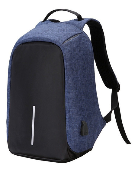 Mochila Anti Robo Usb Smart Bag Porta Notebook Universidad Impermeable Pro Oferta Shox Palermo