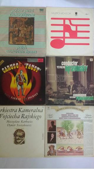 6 Lps Importado Wagner Caruso Música Clássica Frete Grátis