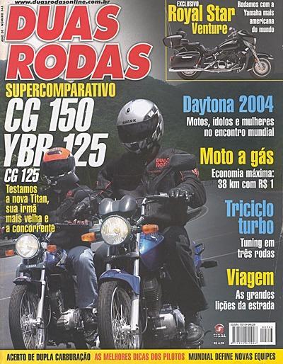 2r.343 Abr04- Honda 150 Titan Cg125 Yama Ybr Royal Star Tric