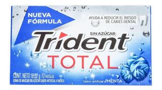 Chicle Trident Total Menta X 12und