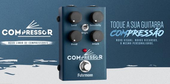 Pedal De Guitarra Compressor Fuhrmann Lançamento 2019