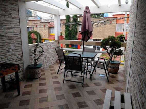 Huehuetoca Sta.teresa 3 Casa 2 Niveles Con Hermosa Terraza
