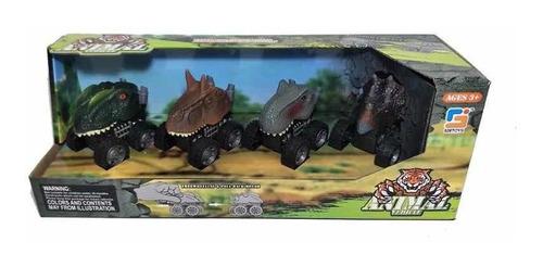 Carritos De Juguete En Forma De Dinosaurio Cod 526-bg05