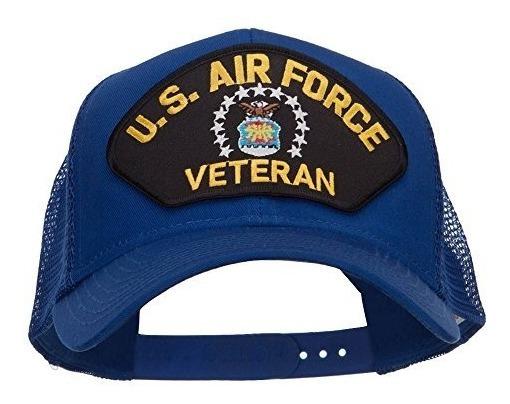 E4hats Gorra De Malla Militar Veteada De La Fuerza Aerea De