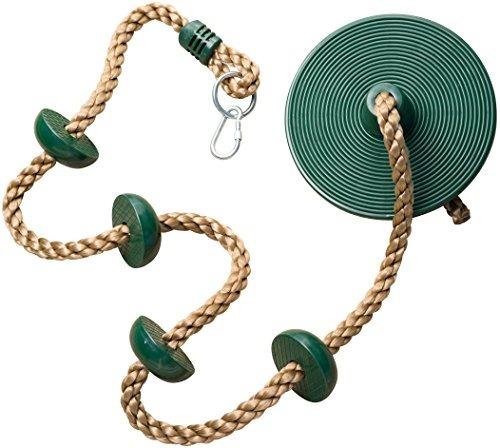 Jungle Gym Kingdom Cuerda De Escalada Con Plataformas Y Disc