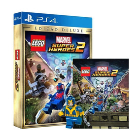 Lego Marvel Super Heroes 2 Edição Deluxe Ps4 Mídia Física