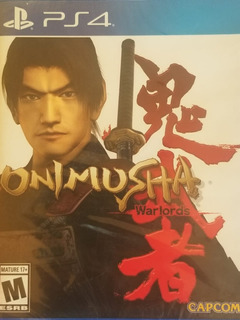 Onimusha Warlords Ps4 Nuevo Sellado Delivery Stock Ya