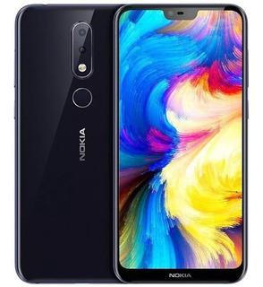 Smartphone Nokia X6 Versão Top 6gb De Ram, Octa Core - Android One -versão 6.1 Plus