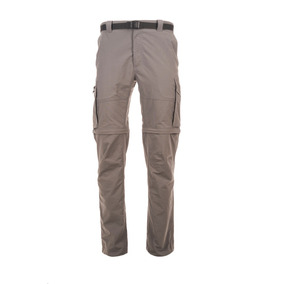 Pantalon Hombre Just-go Mix-2 Q-dry Cargo Pant Gris Lippi