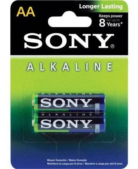 Pilha Alcalina Aaa Sony Am4l-b2d - 1,5v