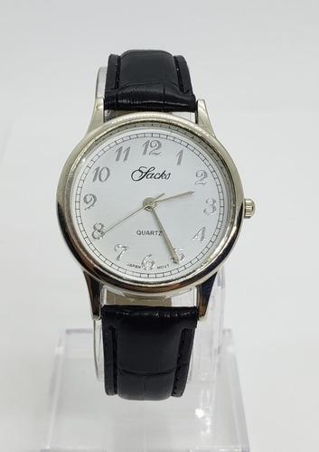 Reloj Sacks Hombre- Cuero - Linea Economica- Dig89