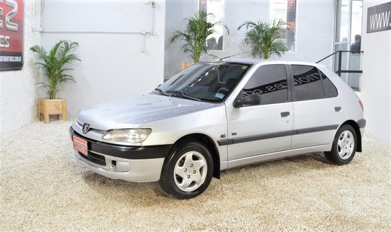 Peugeot 306 Xr 16v Gris 1998 Nafta 5p En Muy Buen Estado!!