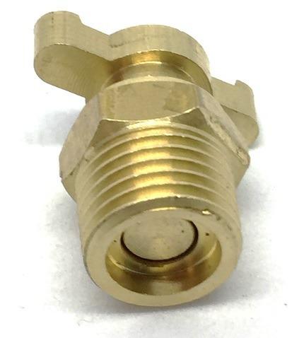 sourcing map Compresor de aire 1//4 pt rosca macho v/álvula de drenaje de agua tono de lat/ón