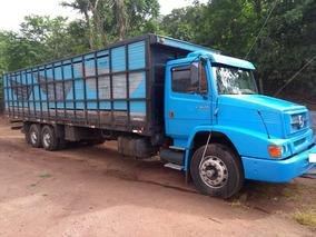 Mercedes-benz Mb L1620 1999 Truck C Carroceria Boiadeiro