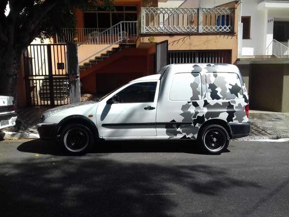 Vw Van Caddy Furgão 1999 Euro Look Rat Motor Ap Mi