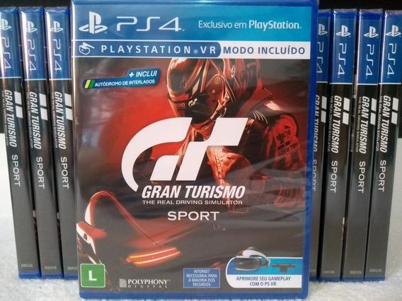Gran Turismo Sport - Ps4 - Mídia Física - Lacrado