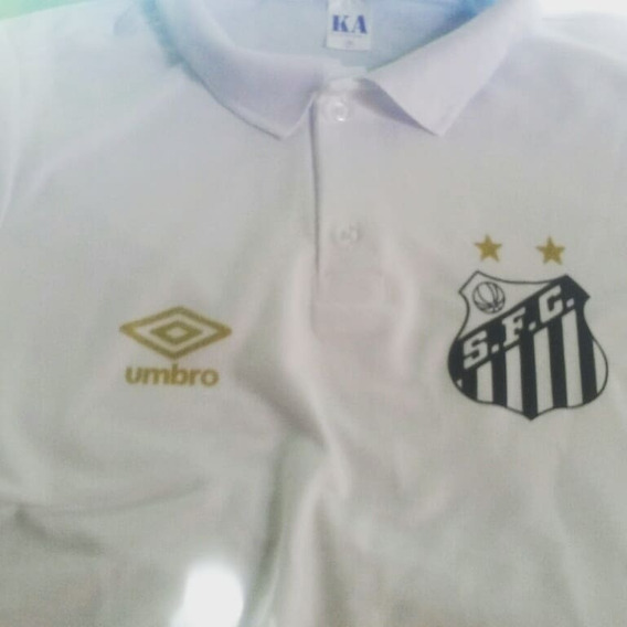 Camisa Gola Polo Santos