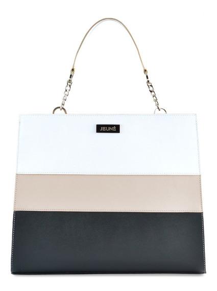 Cartera De Cuero Jeuné - Velvet Shopper Tote Bag