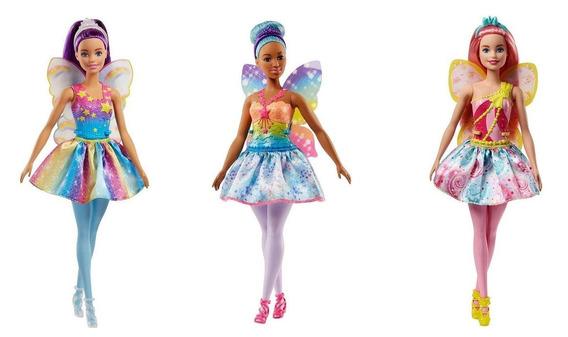 Boneca Barbie Fada Sortida Fcj84 - Mattel