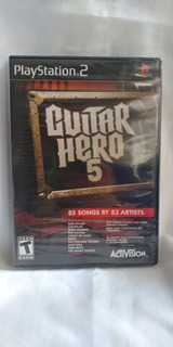 Guitar Hero 5 - Nuevo Y Sellado - Ps2