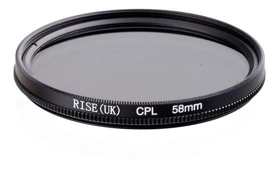 Filtro Polarizador Circular Cpl Para Lente Objetiva 49mm