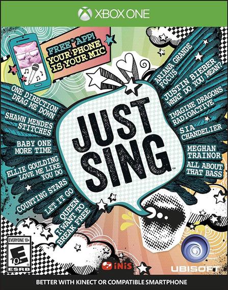 Just Sing Xb1 Nuevo
