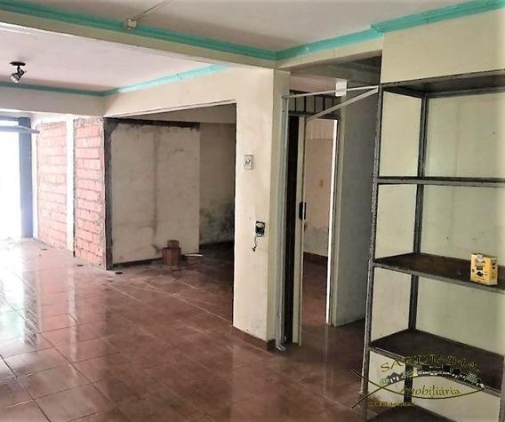 Salão Comercial Para Locação (74m²) - 1 Banheiro E Portão Eletrônico - Pq. Industrial Das Oliveiras, Taboão Da Serra - Sp. - Ml768