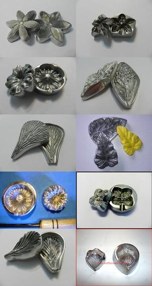 Frisadores Em Alumínio Flores Artificiais Forminhas De Doces