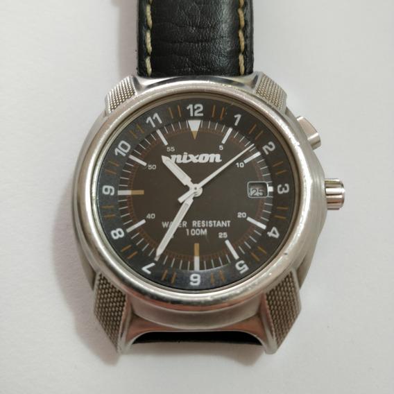 Relógio Nixon Analógico Com Luz De Fundo - Raridade Ano 2005