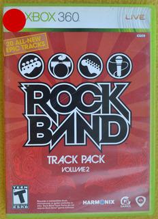 Rock Band Track Pack Volume 2 Xbox 360