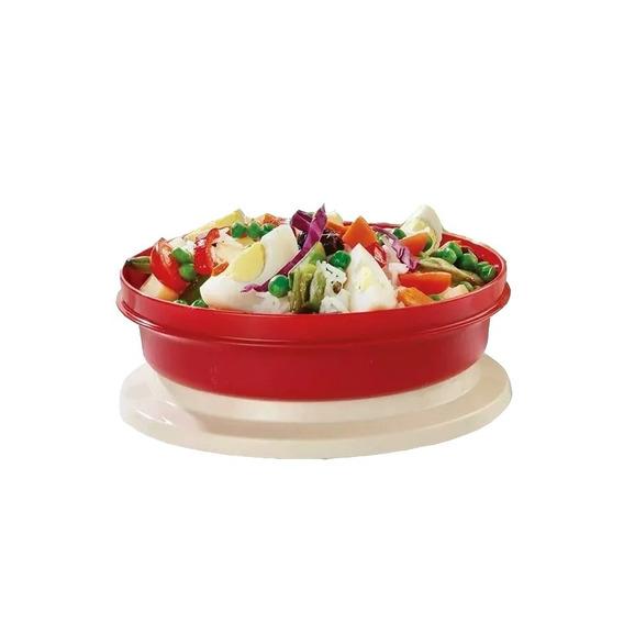 Plato Tupper Para Vianda Con Tapa Microondas Tupperware