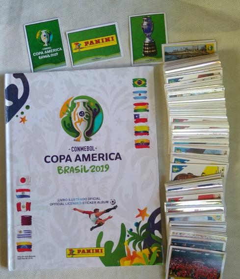 Álbum De Figurinhas Copa América 2019, Completo Capa Dura.