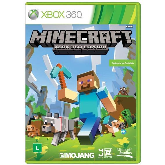 Minecraft - Xbox 360 - Midia Fisica Lacrado