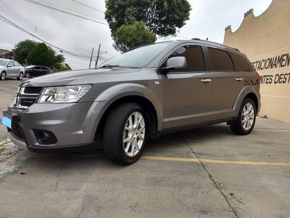 Dodge Journey Rt 2012 3.6 V6 Cinza Impecável