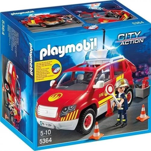 Playmobil Coche Bomberos Con Luces 5364