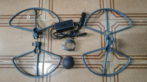 Carregador Veicular Original Drone Mavic Pro 1 E Acessórios