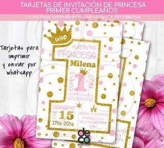 Invitación 40 Años Mujer Para Imprimir En Mercado Libre