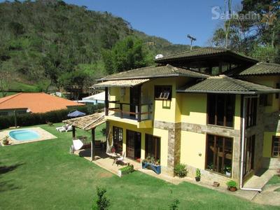 Casa Residencial À Venda, Secretário, Petrópolis. - Ca0168