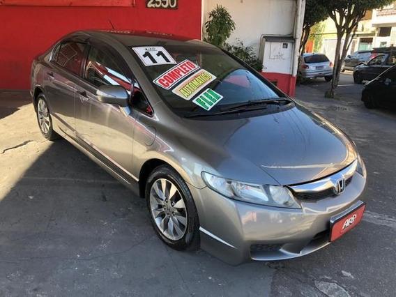 Honda Civic Lxl 1.8 Automatico Flex 2011 Cinza
