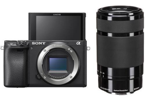 Sony A6400 Com Lente E 55-210mm F/4.5-6.3 - Lj. Platinum