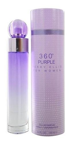 Perfume Perry Ellis 360 Purple Original - L a $332