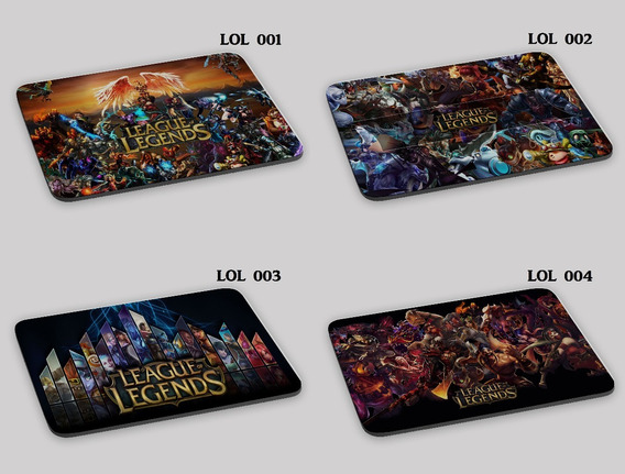 Mouse Pad League Of Legends Lol Gamer Campeão Oferta!!!