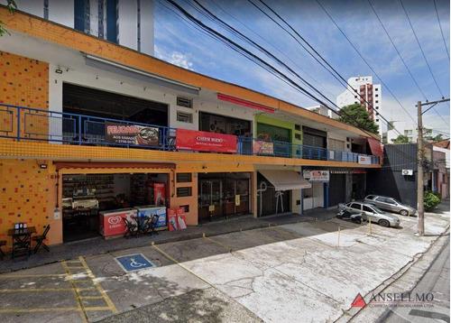 Imagem 1 de 8 de Salão Para Alugar, 35m² Por R$ 1.200,00/mês - Centro - São Bernardo Do Campo/sp - Sl0035